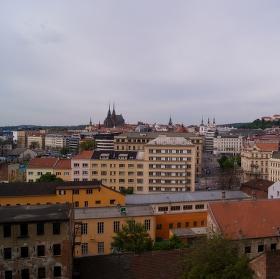 Brno z výšky