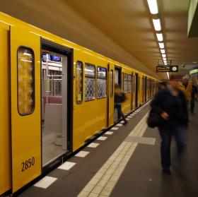 Metro v Berlíně