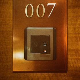 Apartmán je připraven pane...