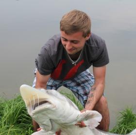 S kamaradem na rybach