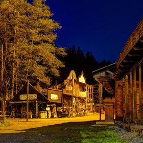 Šiklův mlýn v noci