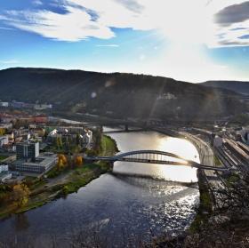 Ústí nad Labem z výšin