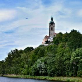 soutok Labe s Vltavou