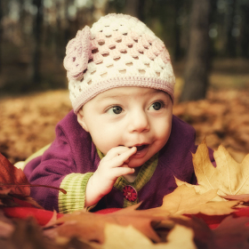 Dítě podzimu