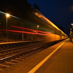 Průjezd vlaku