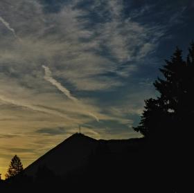 Ráno nad Semmeringem