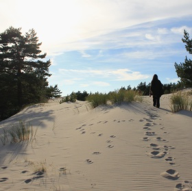 Za dunou je moře ....