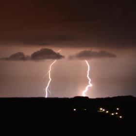 Konečně bouřka