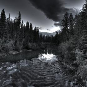 River in Jasper