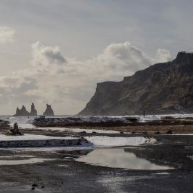 Černé pláže Víku