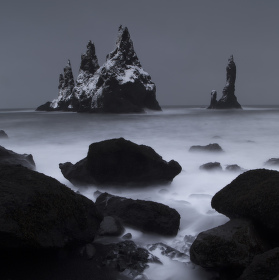 Rock formations in Vik