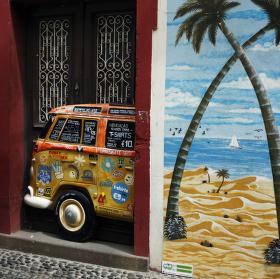 Dveře ve Funchalu