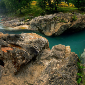 Kaňony řeky Soči