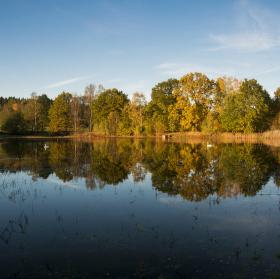 Podzimní zrcadlo