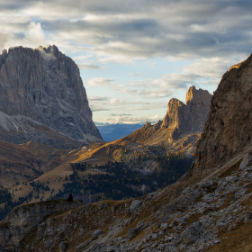 Grohmannspitze, Passo Sella