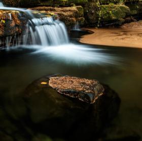 Mohelnický potok v Beskydech
