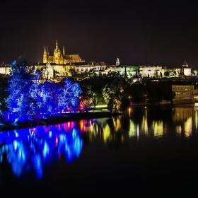 Pražský hrad s magickou zahradou
