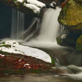 Rešovské vodopády k nepoznání