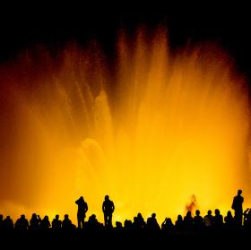 Magická fontána - Barcelona