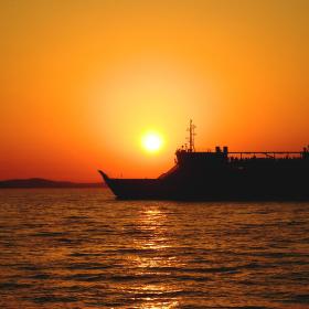 Západ slunce v Zadaru