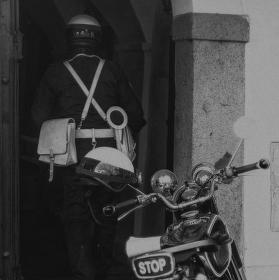 Motorizovaná četa Hradní stráže