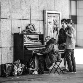 Koncert příběhu z ulice