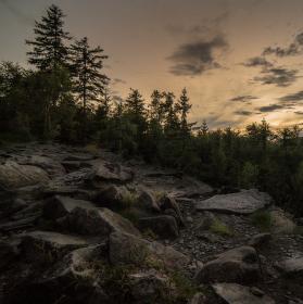 Podvečer v Lužických horách