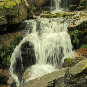 Vodopád pod Jedlovou
