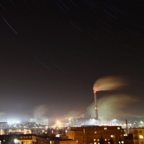 Noc nad Plzní