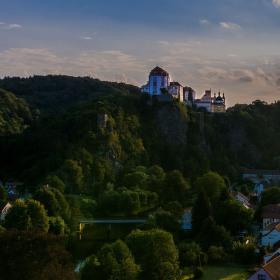 Západ na Vranovem