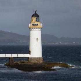 Maják na ostrově Mull