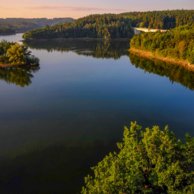Stropěšínský most přes Dalešickou přehradu
