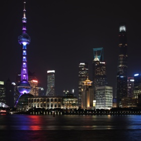 Noční Shanghai