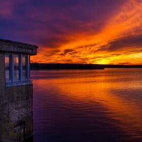 Sunset Mušov