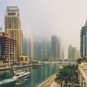 Ranní Dubai Marina