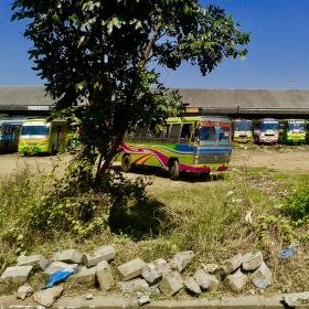 autobusova stanica Thrissur, India