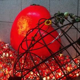 svíčky pro Václava Havla