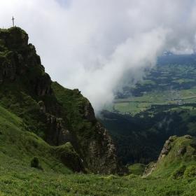 Panoramatické pohledy z hor