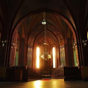 Interiér kostela sv. Mikuláše v Ludgeřovicích