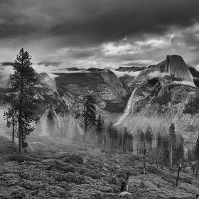 Yosemite Valley BW_Kalifornie