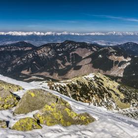 Vysoké Tatry z Chopku
