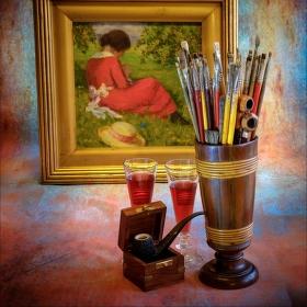 U malíře