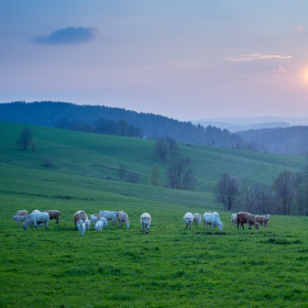 Západ slunce po česku :)