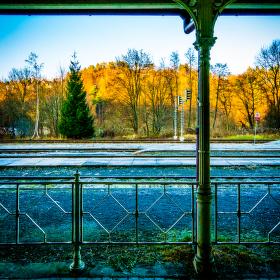 Vlakové nádraží v Železném Brodě