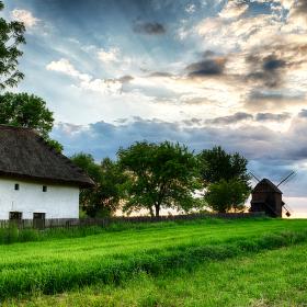 Moravská vesnička