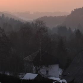 Podvečer v Čenkovicích