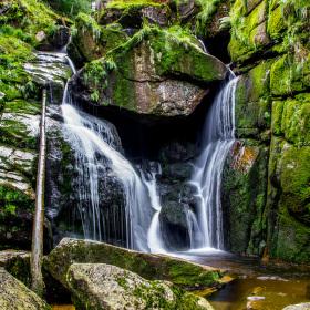 Vodopád Černého potoka