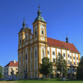 Dub nad Moravou, poutní kostel Očišťování Panny Marie