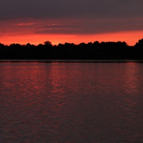 Podvečer u Horusického rybníka ii.