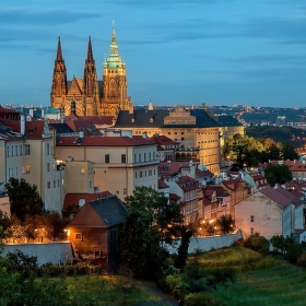 Pohled ze Strahova